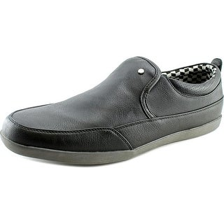 Madden Men Hixon Men  Round Toe Synthetic Black Loafer