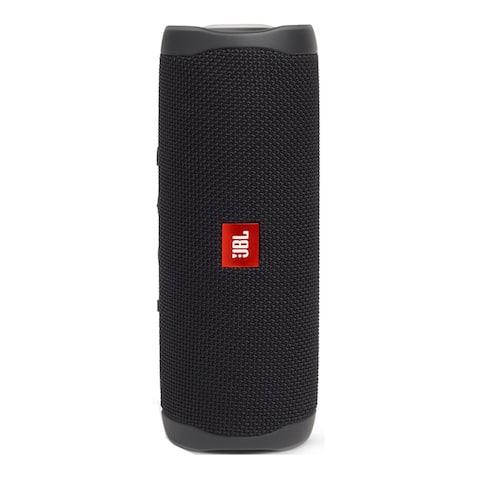 JBL Flip 5 Portable Waterproof Bluetooth Speaker (Midnight Black)
