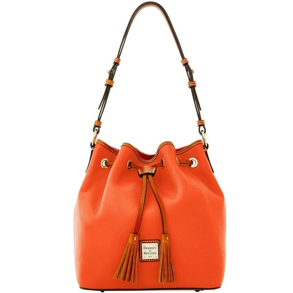 Dooney & Bourke Pebble Grain Kendall (Introduced by Dooney & Bourke at $268 in Dec 2015) - Persimmon