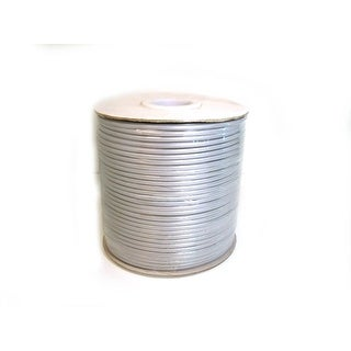 Monoprice 1000ft 8 Conductor 28AWG Stranded Bulk Phone Cable - Silver