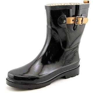 Chooka Top Solid Mid Round Toe Synthetic Rain Boot