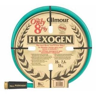"Gilmour Flexogen 1012025 Garden Hose, 1/2"" x 25', Assorted Colors"
