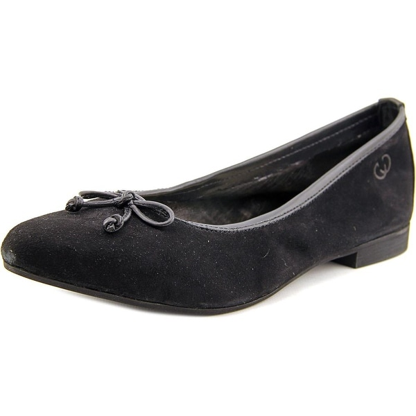 Gerry Weber Edith 01 Round Toe Suede Ballet Flats