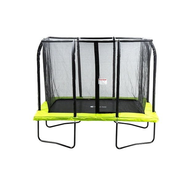 Shop ExacMe 7x10 FT Rectangle Trampoline 4U Legs W/ Safety