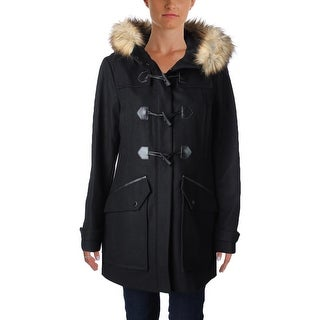 Marc New York Womens Coat Wool Hooded - 8