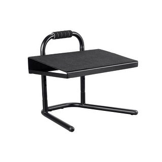 Monoprice Height Adjustable Standing Foot Rest - Black