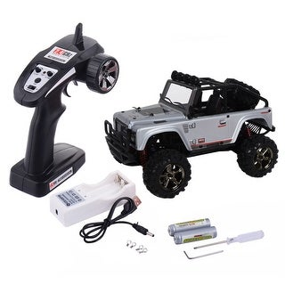 Costway 1:22 2.4G 4WD High Speed RC Desert Buggy Truck Radio Remote Control Off Road