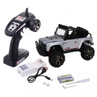 Costway 1:22 2.4G 4WD High Speed RC Desert Buggy Truck Radio Remote Control Off Road - White