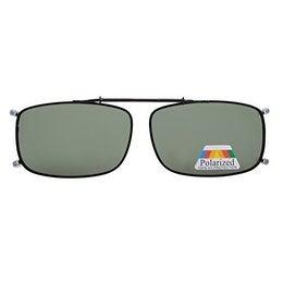 Eyekepper Metal Frame Rim Polarized Lens Clip On Sunglasses G15 Lens