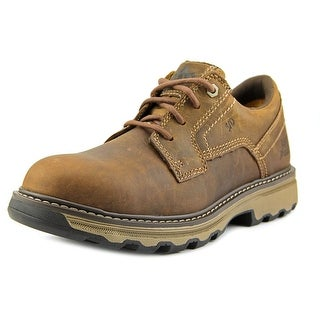 Caterpillar Tyndall ESD Round Toe Leather Work Shoe
