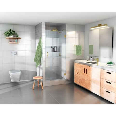 "Glass Warehouse 78"" x 26.125"" - 26.5"" Frameless Shower Door with Enduroshield Technology"