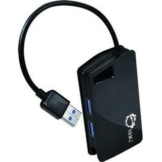 Siig Accessory Ju-H30812-S1 Usb 3.0 4-Port Hub Adds 4 Usb 3.0 Port To Computer Retail