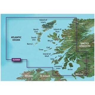 Garmin VEU006R - Scotland, West Coast SD card Navigational Software