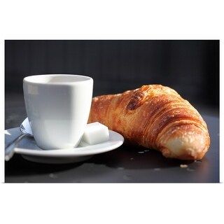 """""""french breakfast"""" Poster Print"""