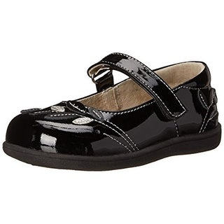 See Kai Run Girls Adeline Mary Janes Toddler Patent Leather - 5 medium (b,m)