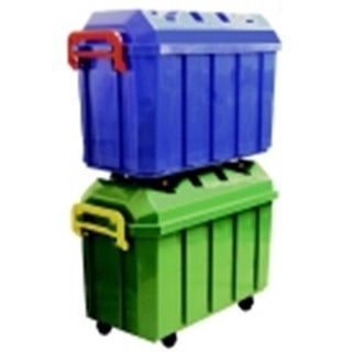 s Heavy Duty Stor & Roll Trunk With Casters, Pack 4