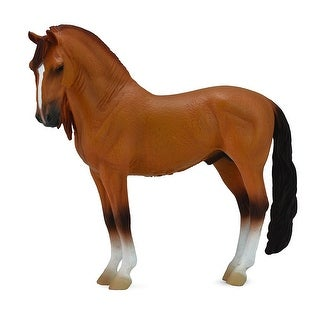 Breyer 1:18 Corral Pals Horse Collection: Red Dun Campolina Stallion - multi