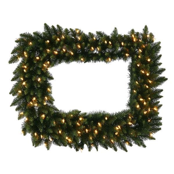 "36"" x 30"" Camdon Rect Wreath DuraL 100CL"