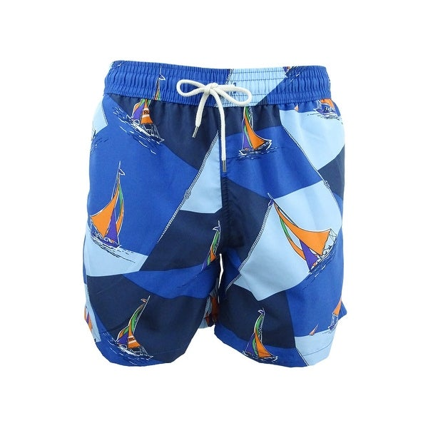 d13a07e569 Shop Polo Ralph Lauren Men's Traveler Swim Trunks - On Sale - Free ...