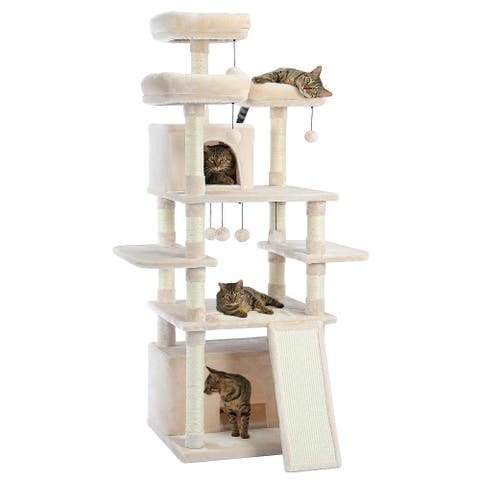 """Milley 65.7""""H Cat Tree Tower For Large Cats"""
