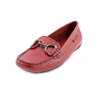 Hush Puppies Cora Square Toe Leather Loafer