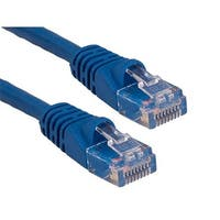 Cable Leader  35 ft. Cat6 550 MHz UTP Snagless Patch Cable, Blue