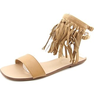 Splendid Taryn Women Open Toe Leather Nude Sandals