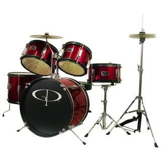 GP Junior Drum Kit Red