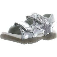 Naturino Girls 523 Fashion Sandals - Silver