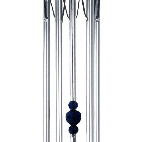 Spoontiques 10509 blue crystal wind chime