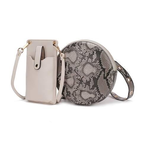MKF Collection Hailey Smartphone Convertible Crossbody Bag by Mia K.