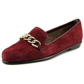 Aerosoles Beta Ray Women Round Toe Suede Red Loafer