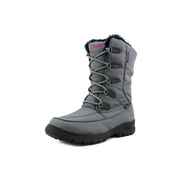 Kamik Brooklyn Women Charcoal Snow Boots