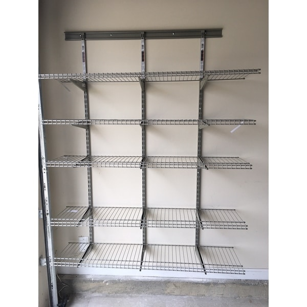 Closetmaid Vinyl Coated Wire Shelving - WIRE Center •
