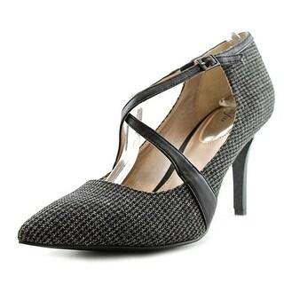 Alfani Trudiee 2 Women Pointed Toe Canvas Heels