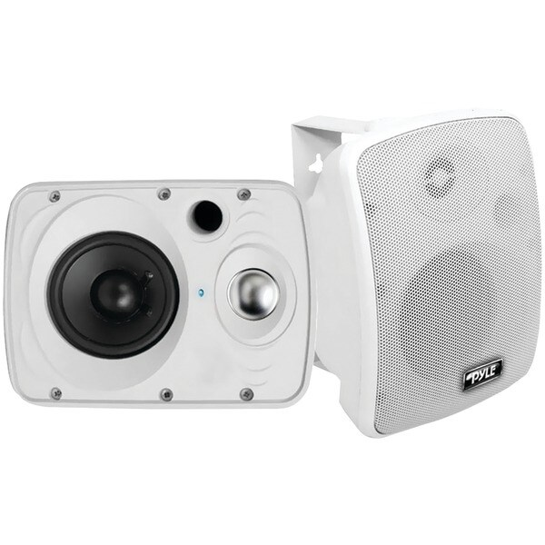 "PYLE HOME PDWR64BTW 6.5"" Indoor/Outdoor 800-Watt Bluetooth(R) Speaker System (White)"