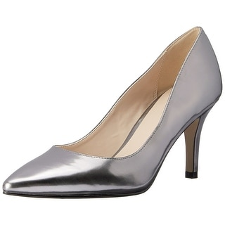 Cole Haan Womens JULIANA Leather Pointed Toe Classic Pumps