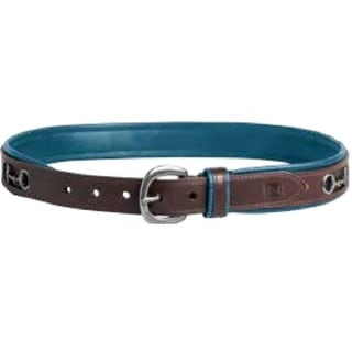 Noble Outfitters English Belt Womens On The Bit Inlaid Snaffle 29502