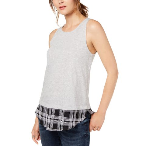 INC International Concepts Women's Layered-Look Tank Top (XL)