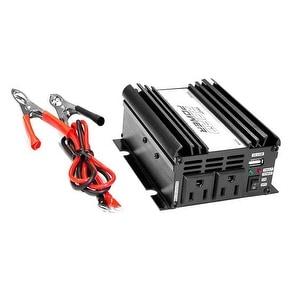 Plug in Car 300 Watt 12v DC to 115 Volt AC Power Inverter w/ Modified Sine Wave & 5 Volt USB Outlet