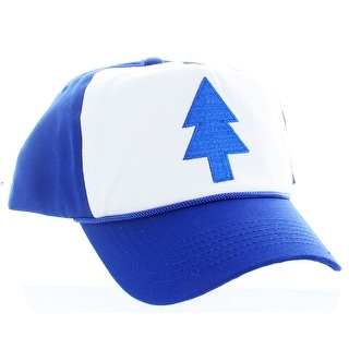 Gravity Falls Tree Blue/White Deluxe Trucker Hat