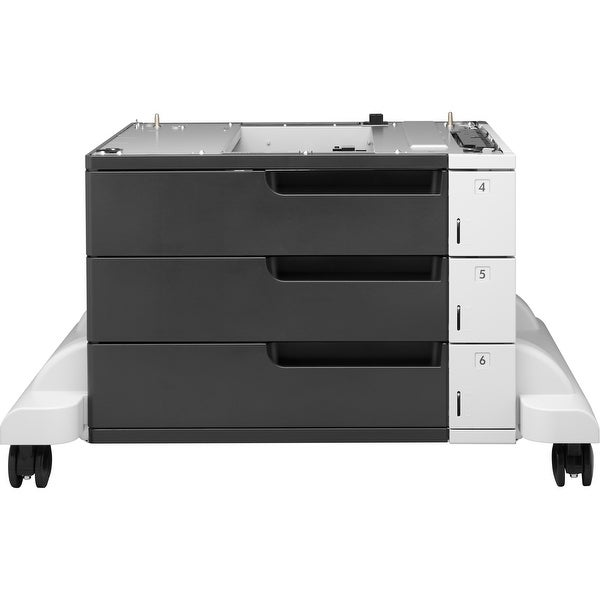 "HP LaserJet 3x500-sheet Feeder and Stand - 1500 Sheet - Plain Paper - Letter 8.50"" x 11"", Legal, A4 8.27"" x 11.69"", B5, A3"