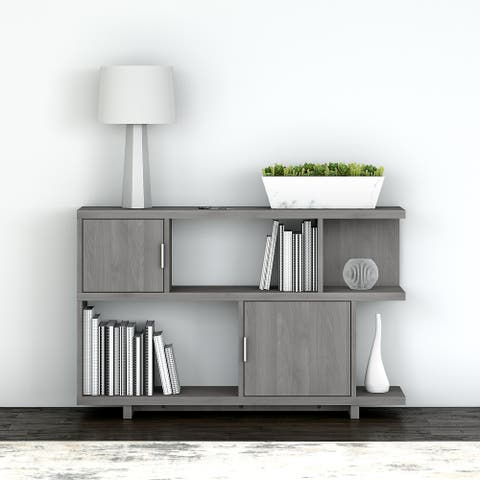 Madison Avenue Console Table with storage from kathy ireland Home