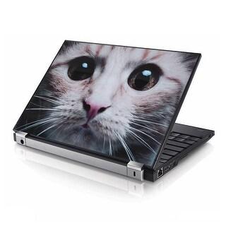 Pet Cat Print Notebook PC Laptop Sticker Skin Protector Cover