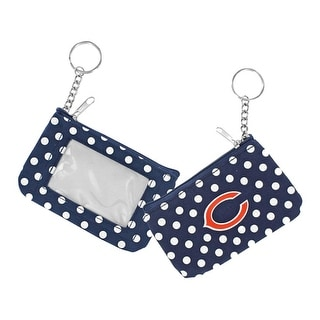 Chicago Bears NFL Coin Purse ID Keychain