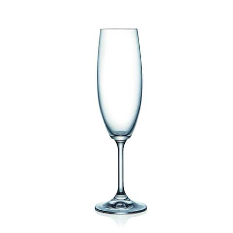 Lara Fluted Champagne Set of 6