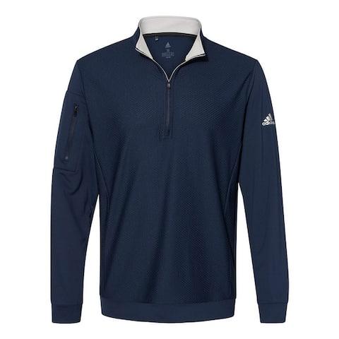 Adidas Men's Performance Quarter Zip Pullover, Assorted Colors