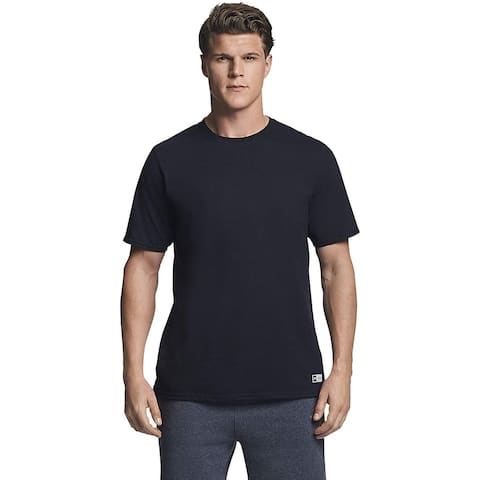 Russell Athletic Men's Essential Short Sleeve Tee, Black,, Black, Size XX-Large