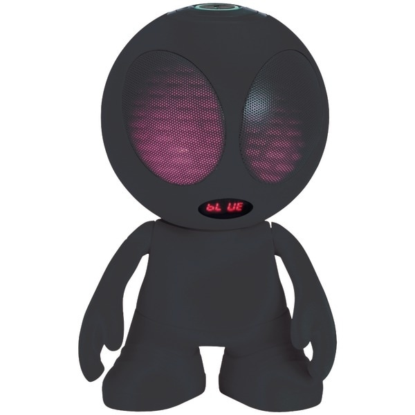 Supersonic Sc-1453Bt Black Bluetooth(R) Alien Portable Speaker (Black)