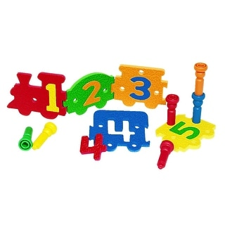 Lauri Tall Stacker Number Express Puzzle